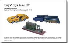 Boys' Toys Take Off